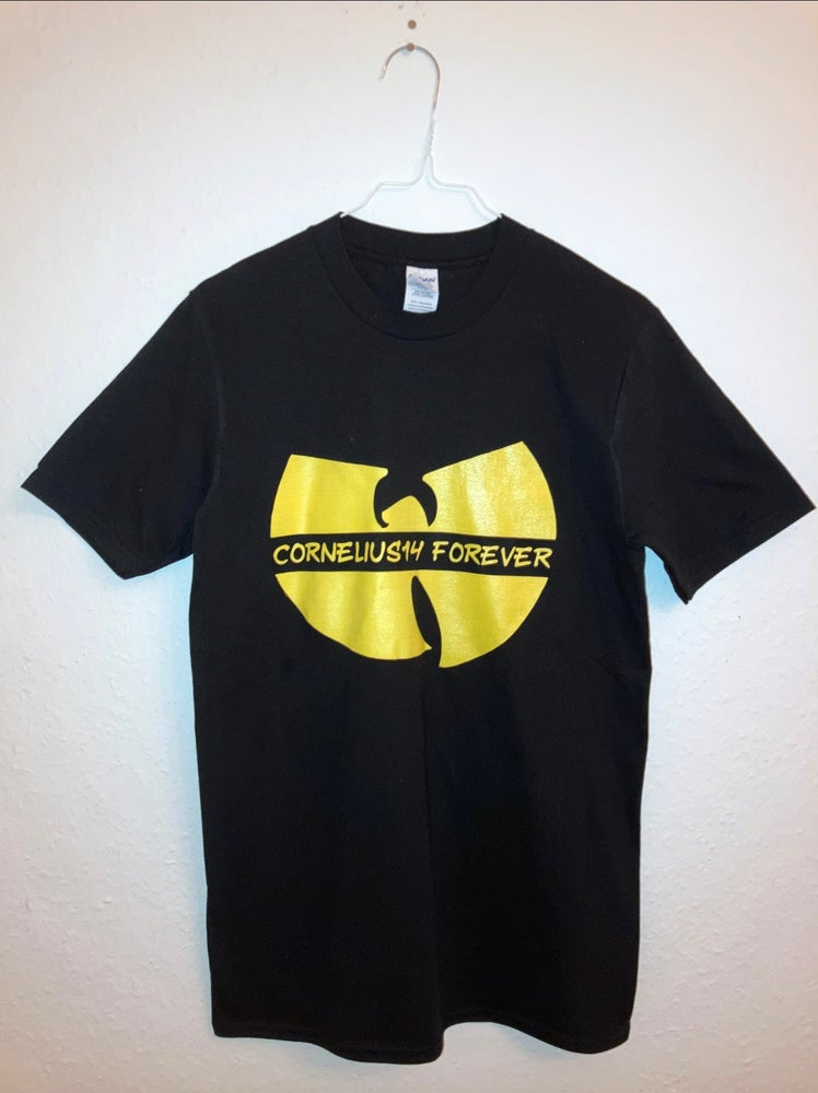 "Image of Robinson Bar ""Cornelius14 Forever"" T-Shirt (black)"
