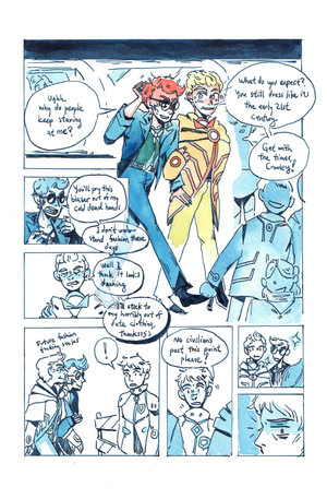 Image of Good Omens: Alpha Centauri 2190 (Fancomic)