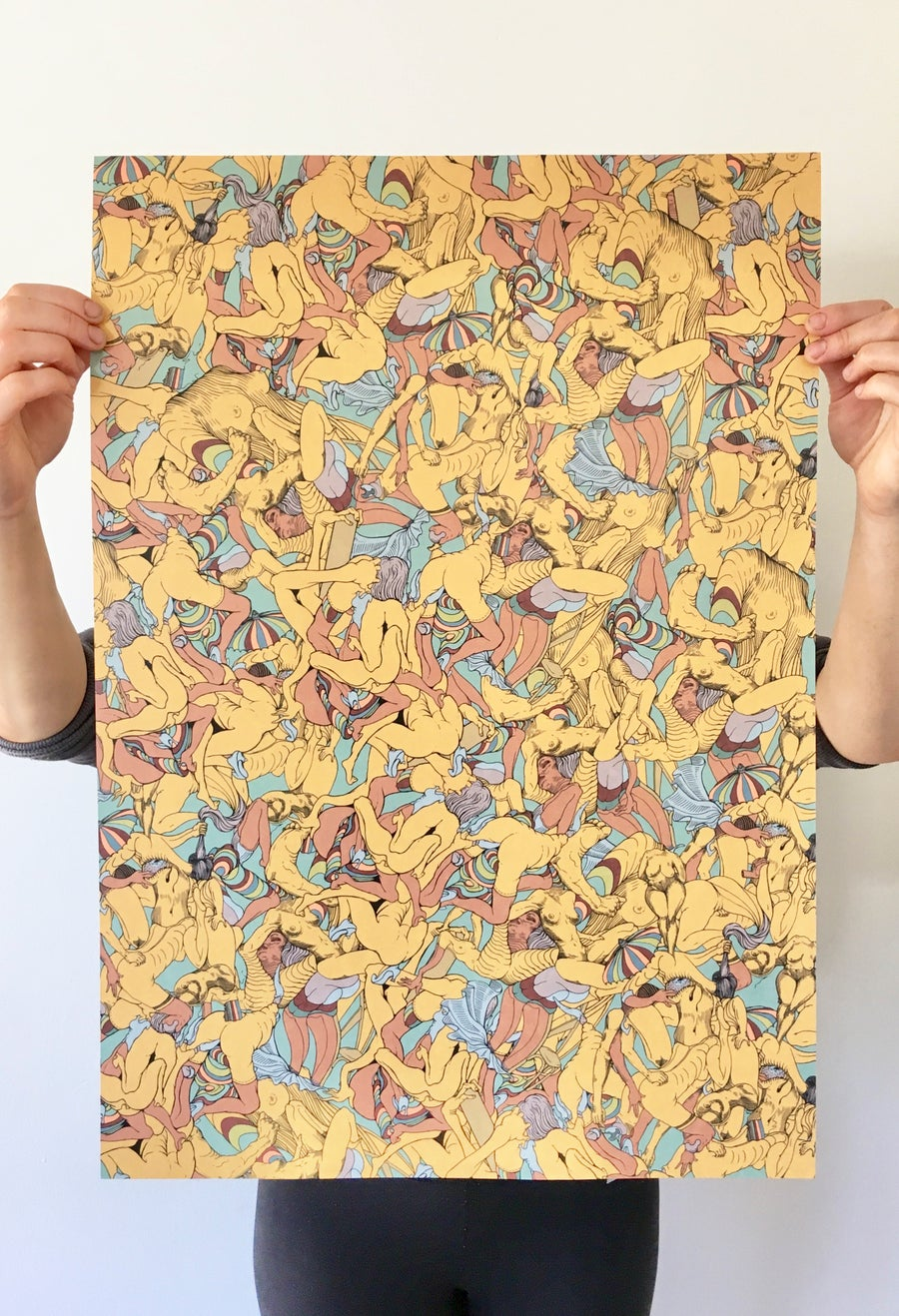 Image of Female Automatism Poster Print