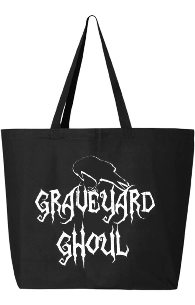 Image of Graveyard Ghoul Large Tote Bag
