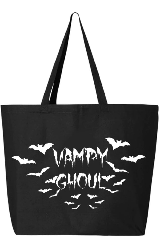 Image of Vampy Bats Large Tote Bag