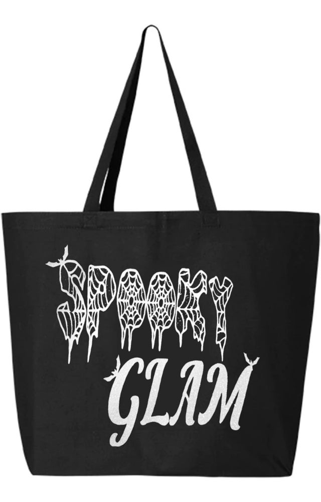 Image of GLITTER Spooky Glam Large Tote Bag