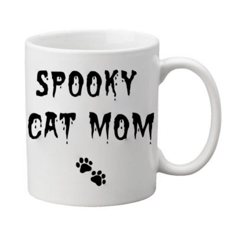 Image of Spooky Cat Mom (Dad) 11oz. Mug