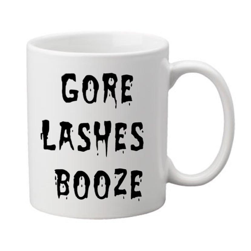 Image of Gore Lashes Booze 11oz. Mug