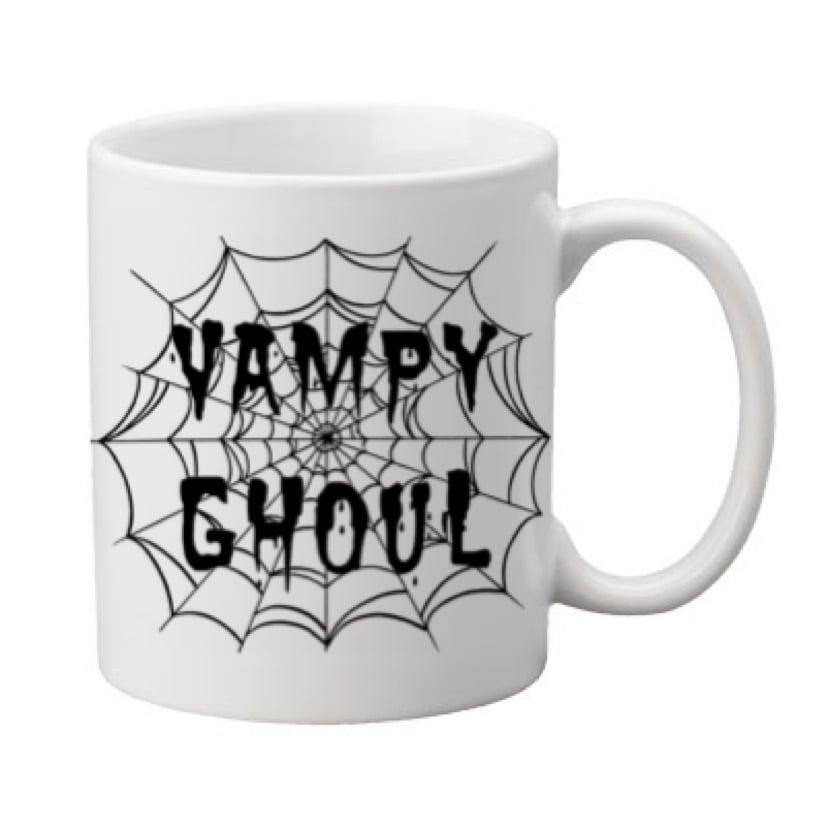 Image of Vampy Ghoul Webs 11oz. Mug