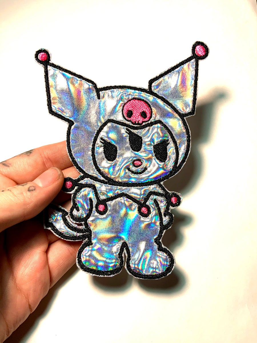 Image of Holographic Kuromi Patch