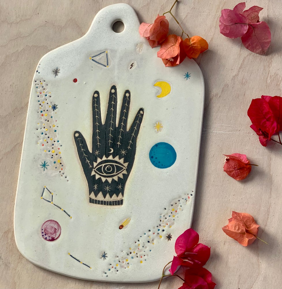 Image of Black Cosmic Hand