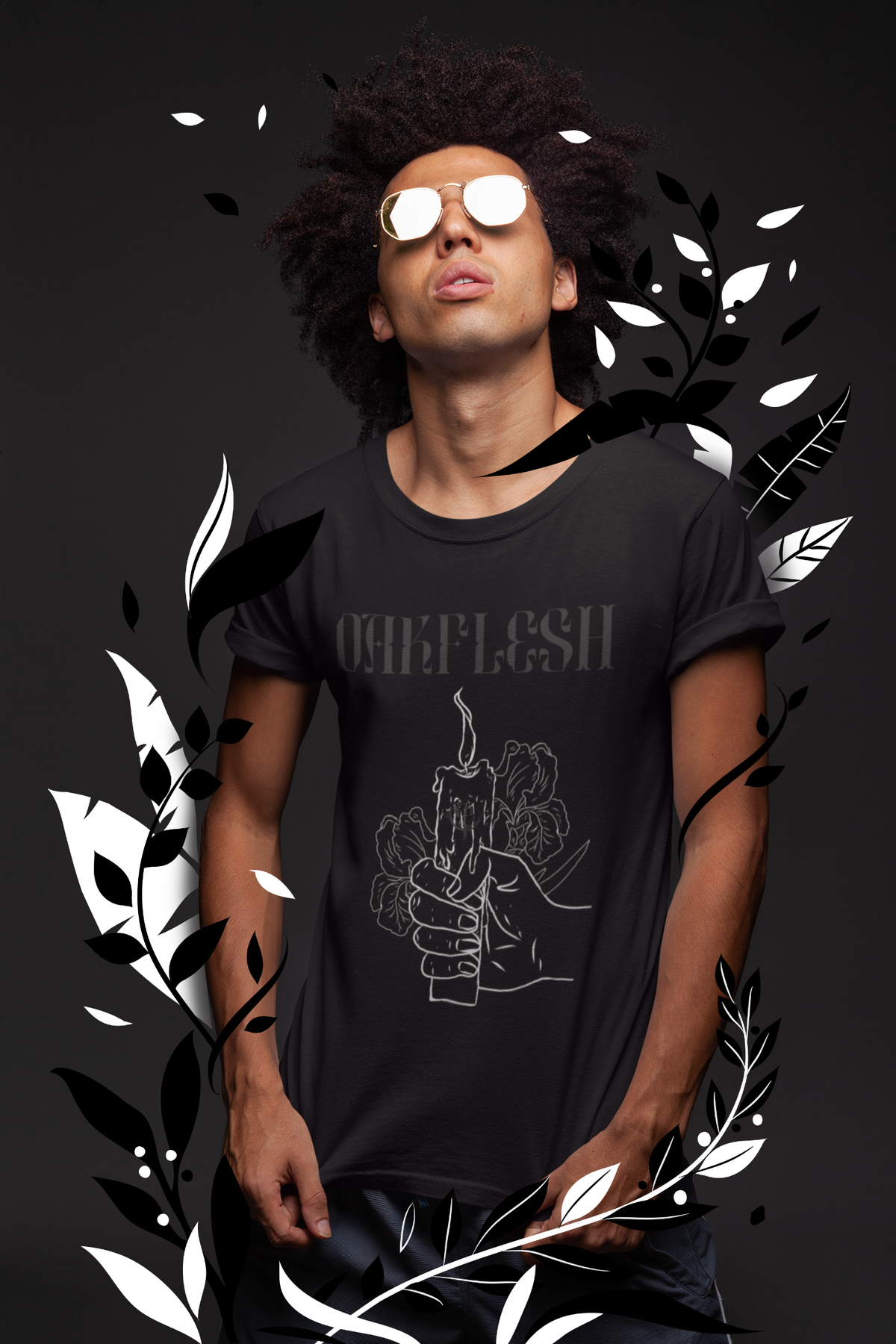 Image of Transcend Tee - {blackout edition}