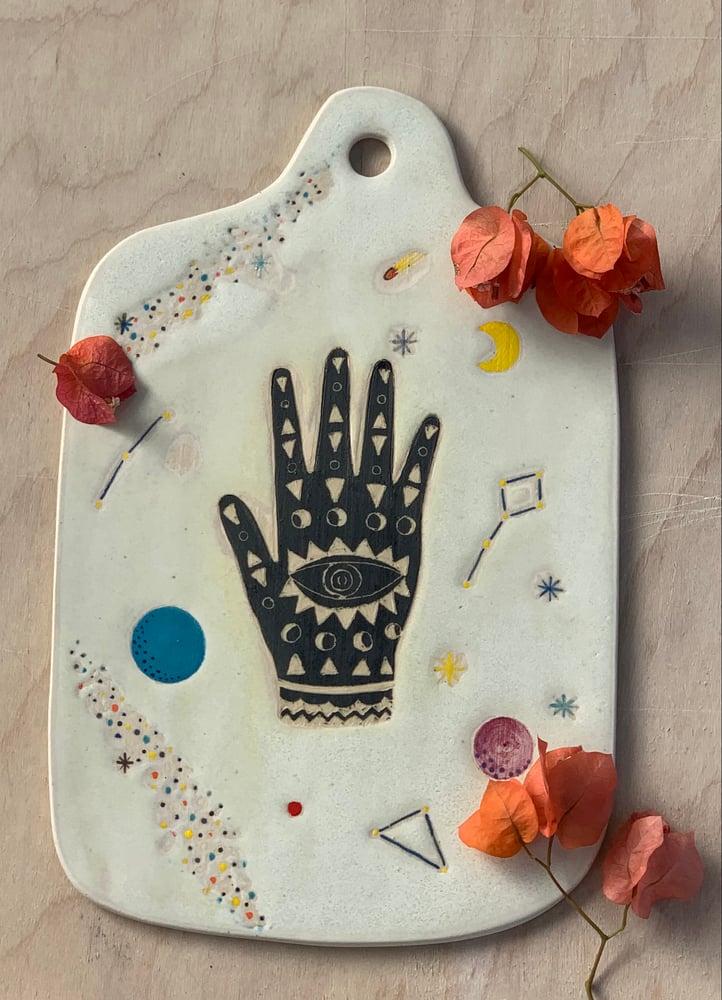 Image of Lunar Black Cosmic Hand