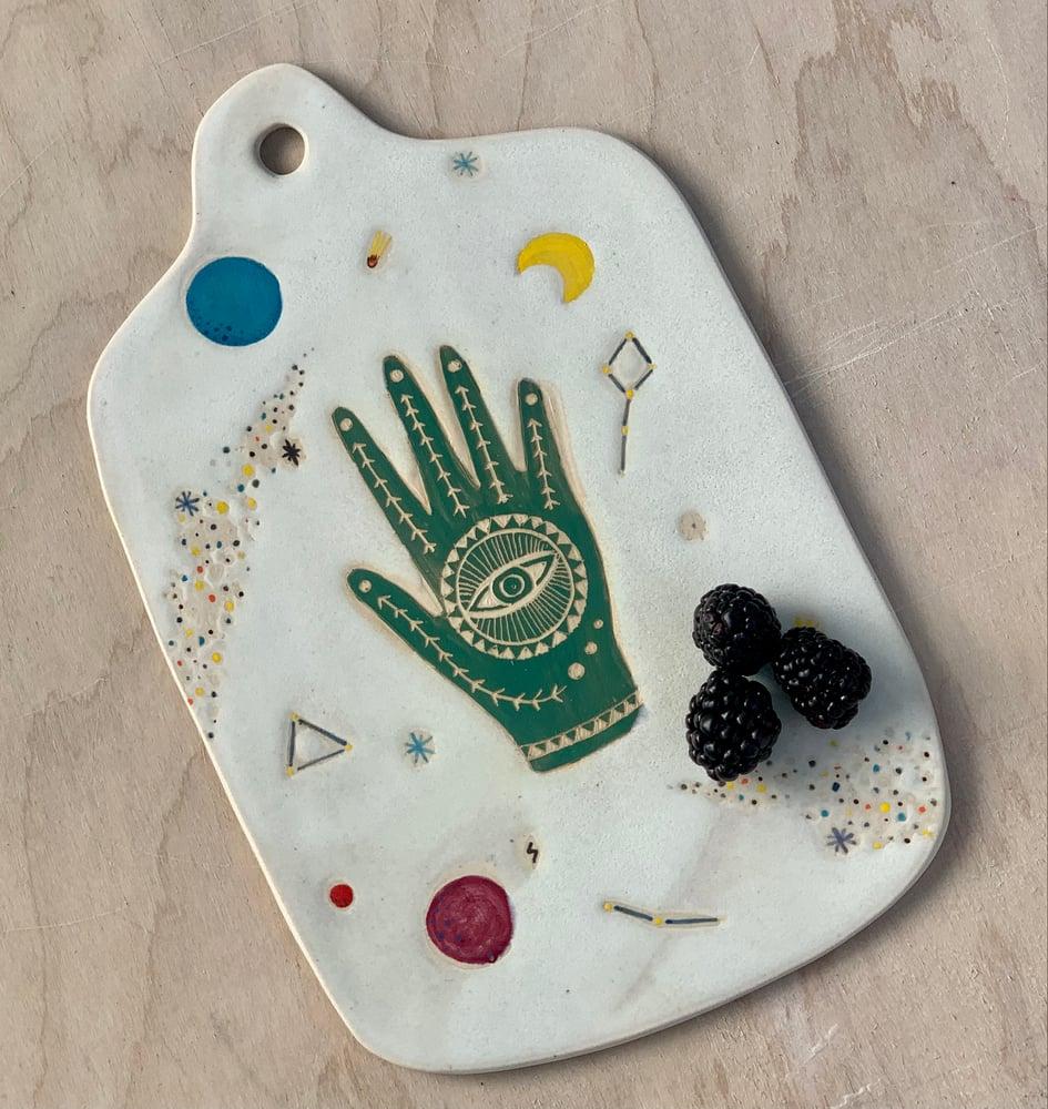 Image of Jade Cosmic Hand
