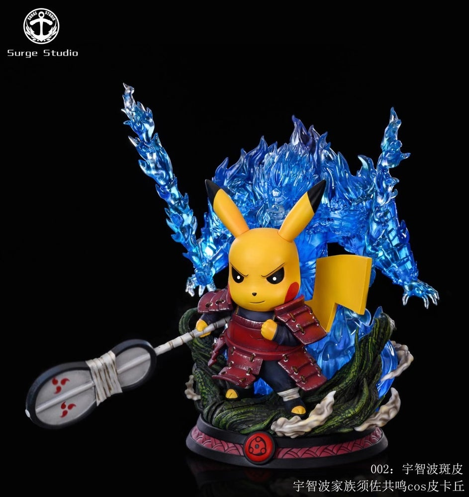 Image of [Pre-Order]Surge Studio Pikachu Cross Madara Resin Statue