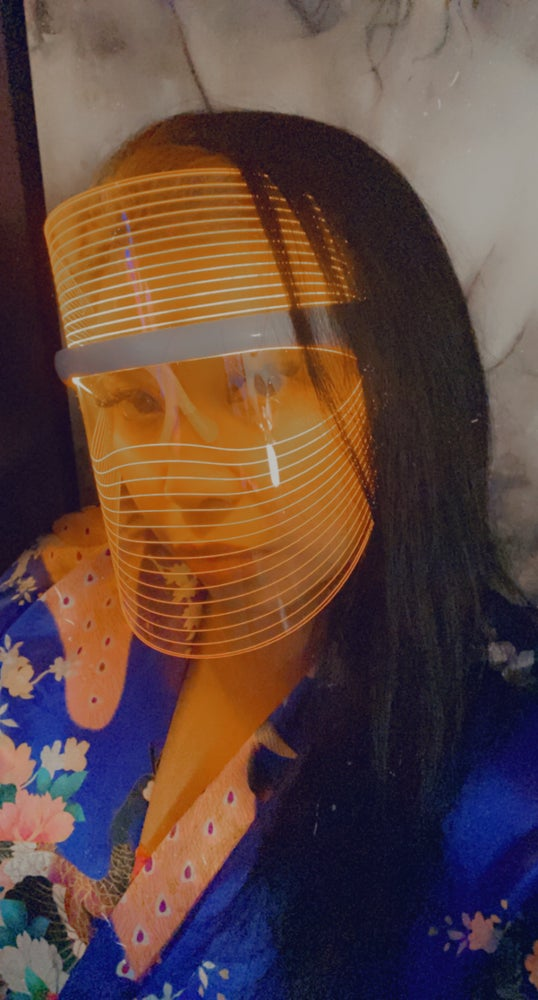 Image of 3 LED FACIAL THERAPY SHIELD/MASK