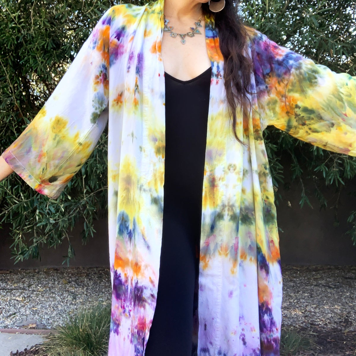 Custom Hand Dyed Kimonos! - Rainbow