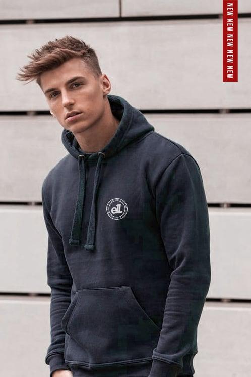 Image of E11evens - Navy heavyweight hoodies