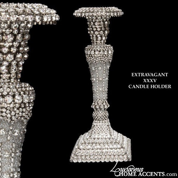 Image of Swarovski Crystal Candle Holder Extravagant XXXV