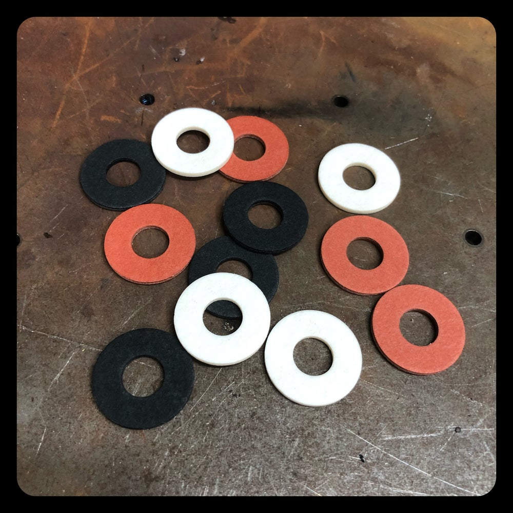 Image of COIL FIBER WASHERS (PACK OF 40)
