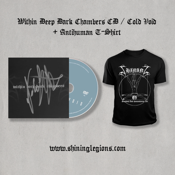 "Image of Shining ""Within Deep Dark Chambers"" Bundle"