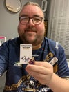 STEPHEN BUNTING LIMITED EDITION PIN BADGE HAND SIGNED