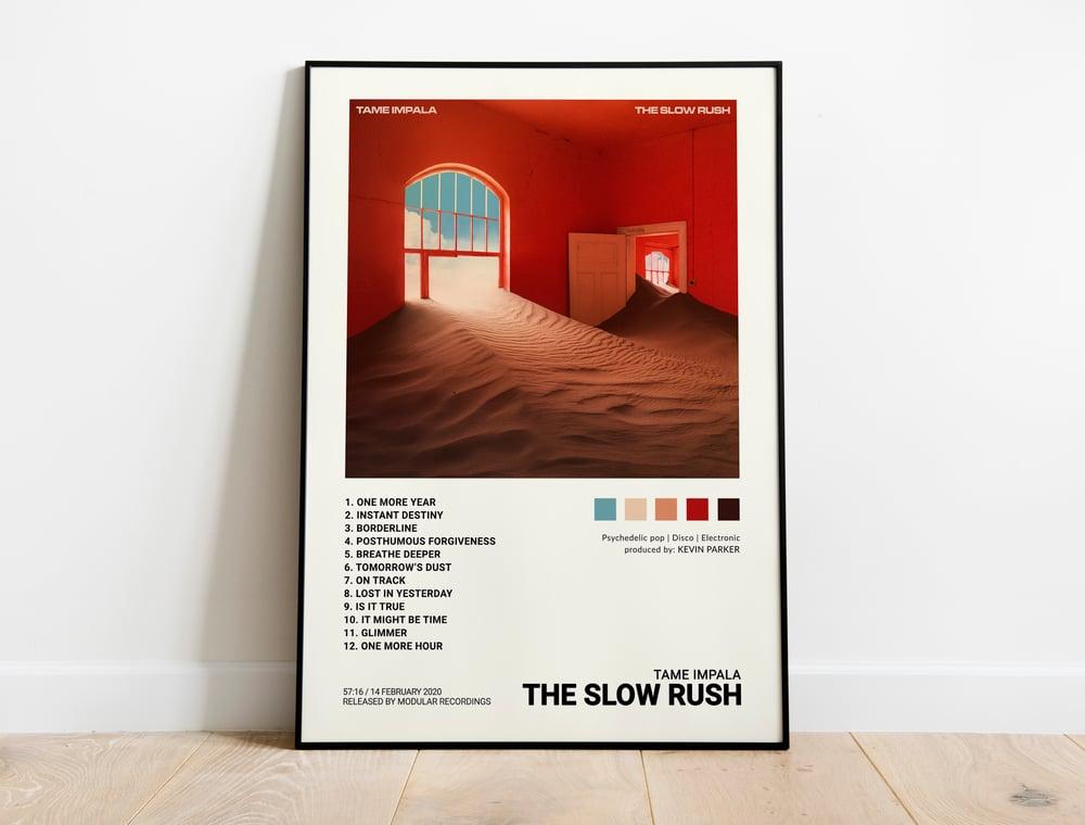 "Tame Impala - ""The Slow Rush"" Album Cover Poster Print"