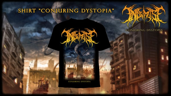Image of IN DEMISE - Conjuring Dystopia T-Shirt