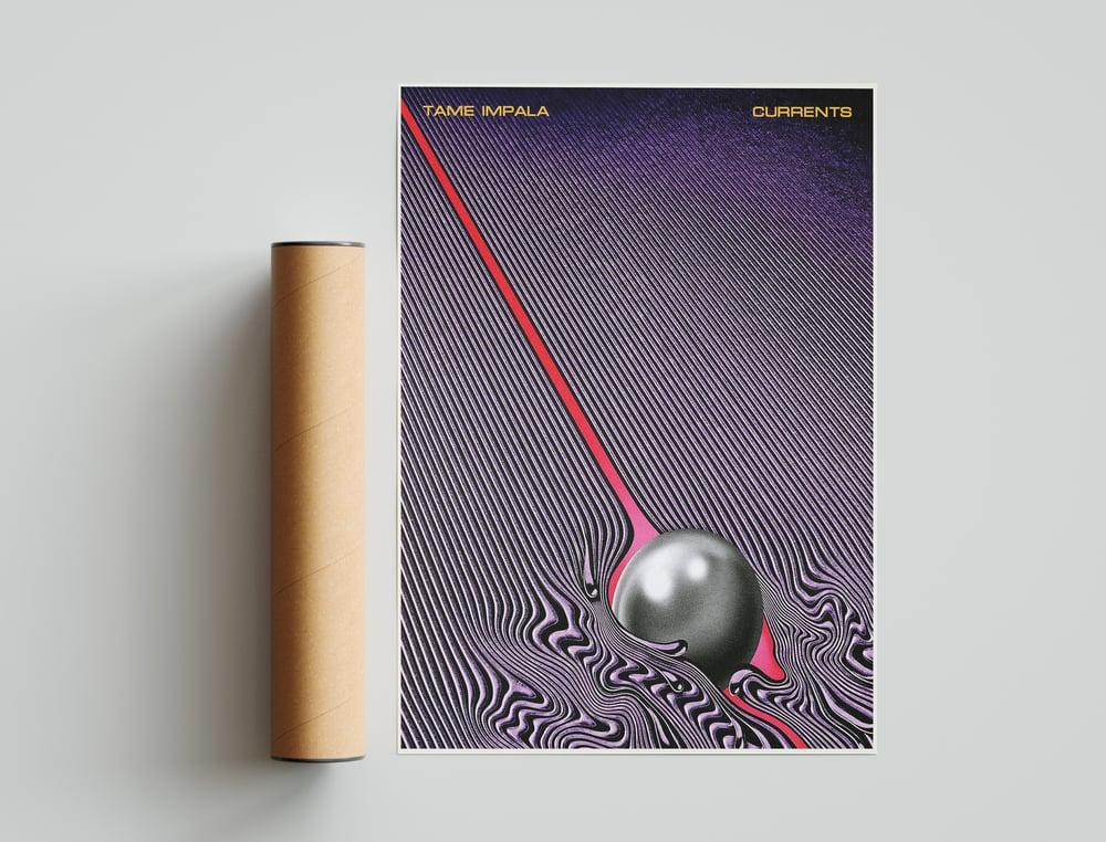 "Tame Impala - ""Currents"" Album Cover Poster Print"