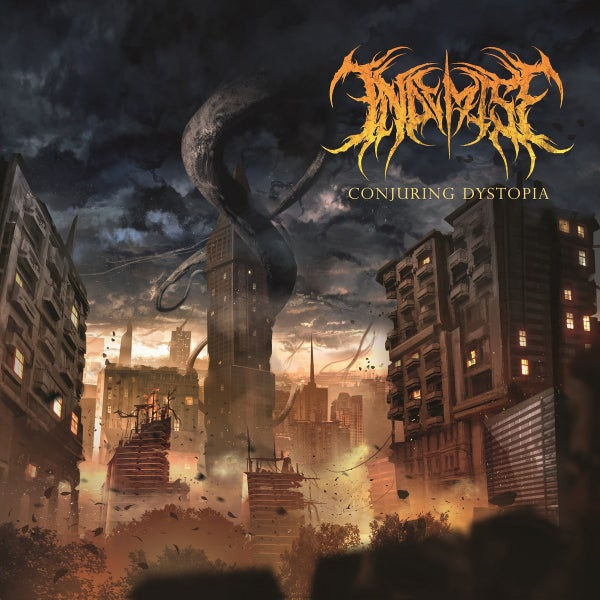 Image of IN DEMISE - Conjuring Dystopia CD [Digi-Pack]