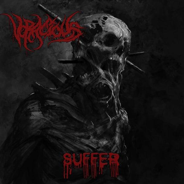 Image of VORACIOUS - Suffer CD [Digi-Pack]