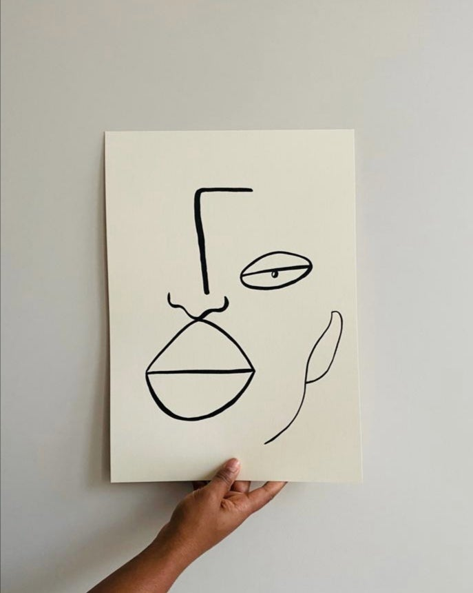 Image of she print