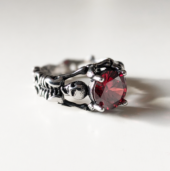 Image of Red Crypt Ring