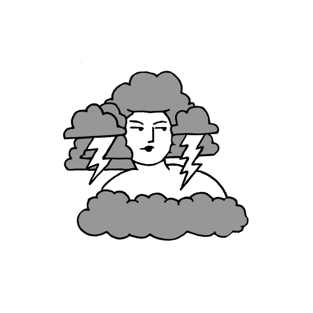 Image of Storm Girl - print