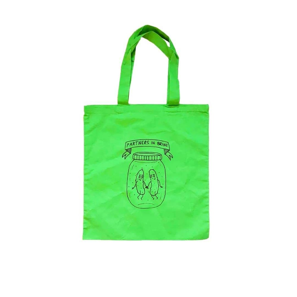 Image of Partners in Brine - tote bag