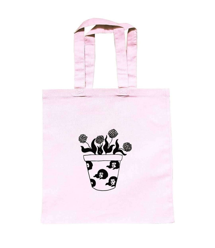 Image of Flower Pot - tote