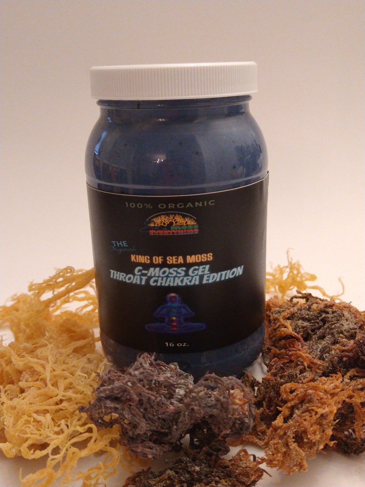 Image of C- Moss Gel Throat Chakra 16 oz.