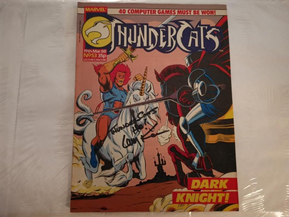 Larry Kenney original signed comic