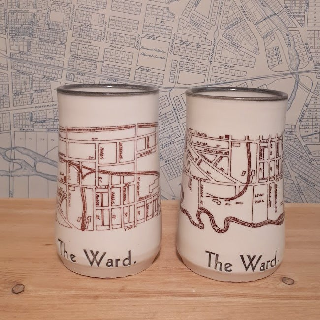 Image of Guelph Inspired 'The Ward' Set of Two Tumblers