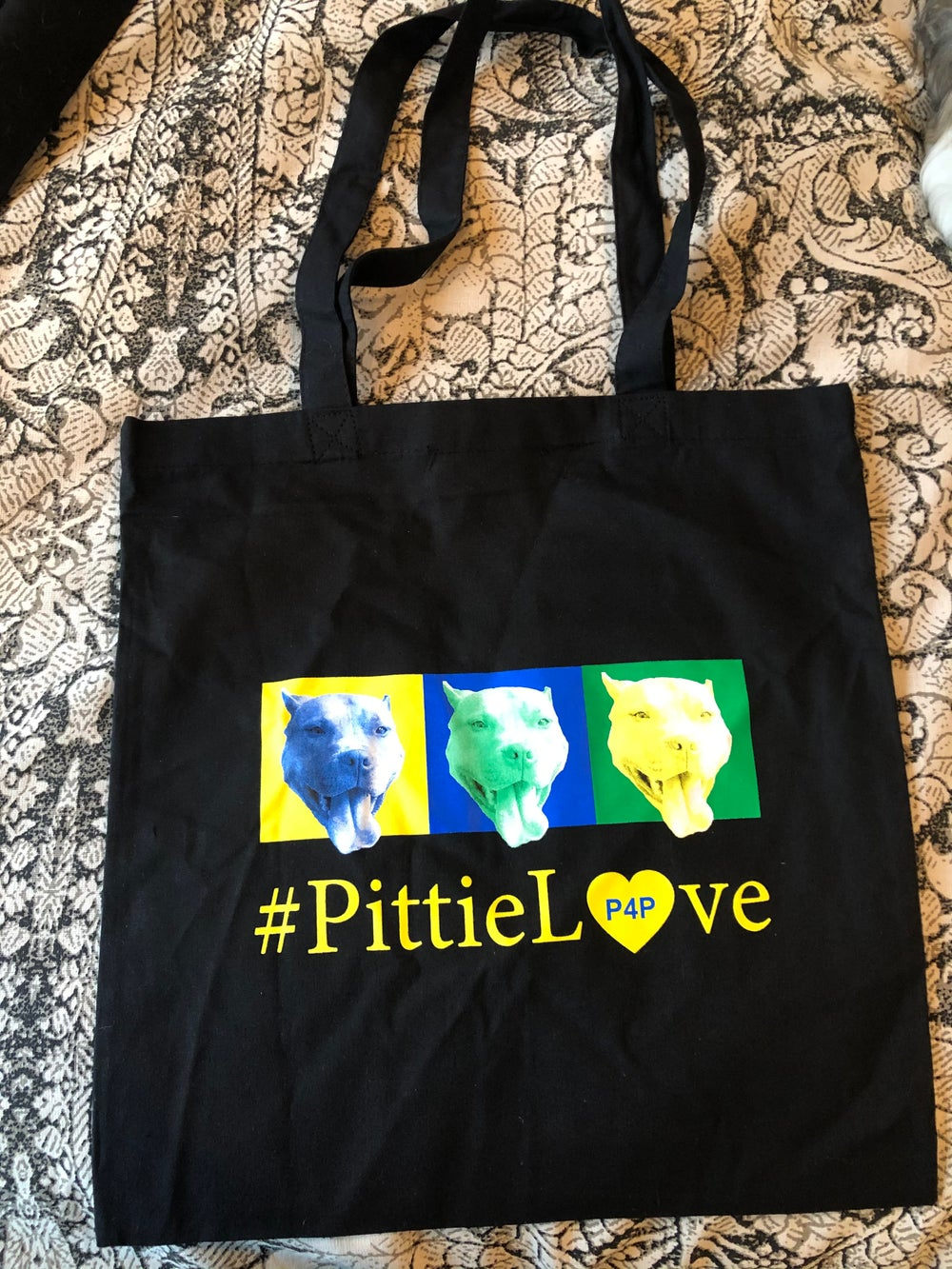 Image of Pittie Love Tote