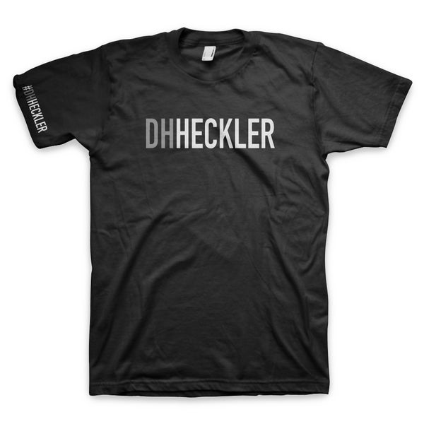 "Image of ""Downhill Heckler"" Men's Tee - Black"