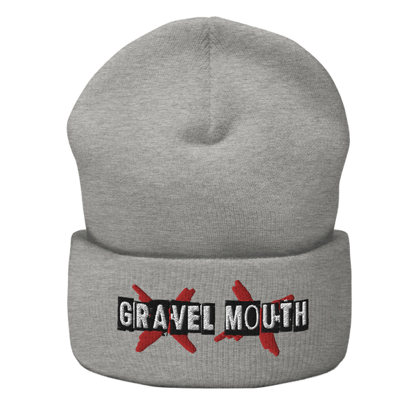 Image of Keagan Grimm Gravel Mouth Logo Beanie