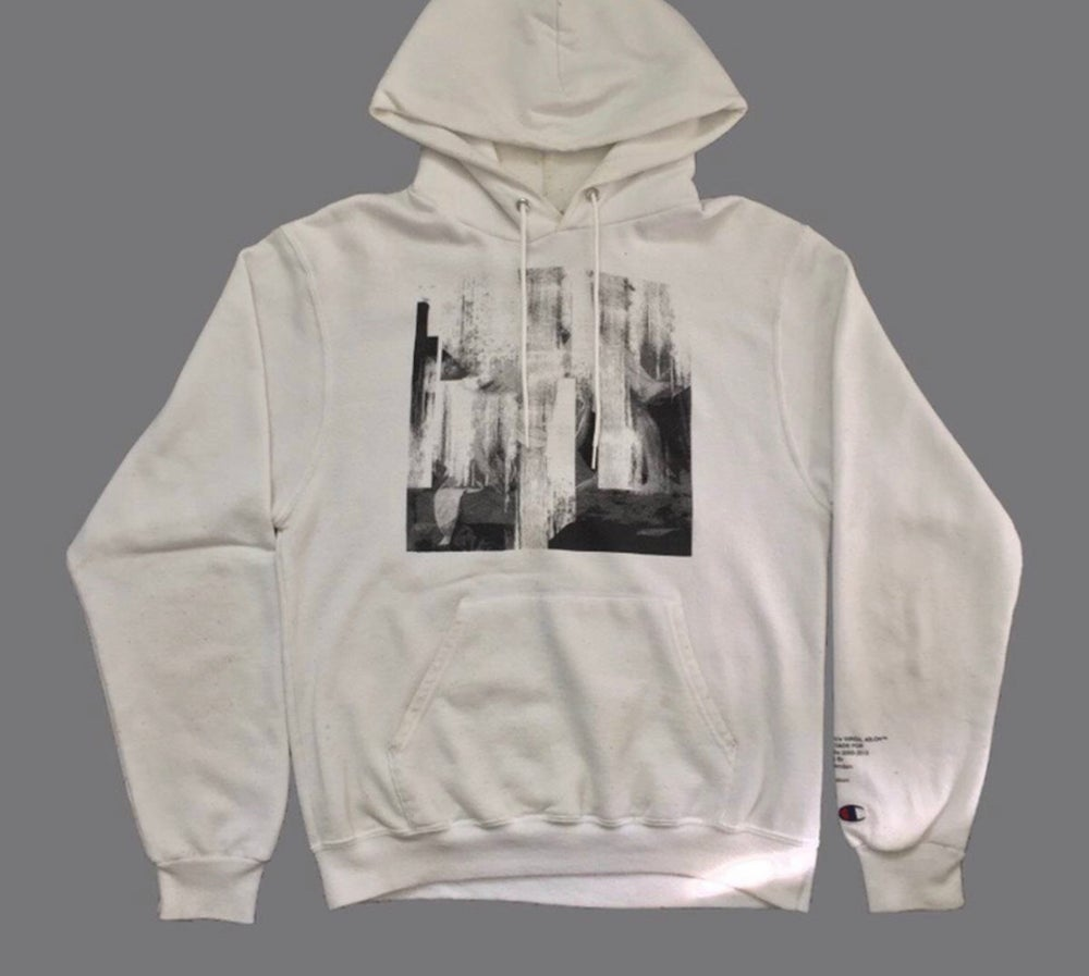 Image of  Super Rare: 2013 Pyrex x Off White Nick Knight Champion Hoodie
