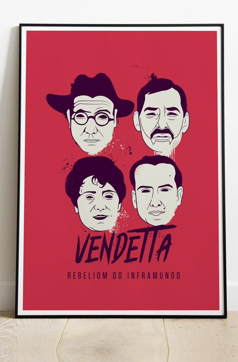 "Image of LÁMINA ""VENDETTA"""