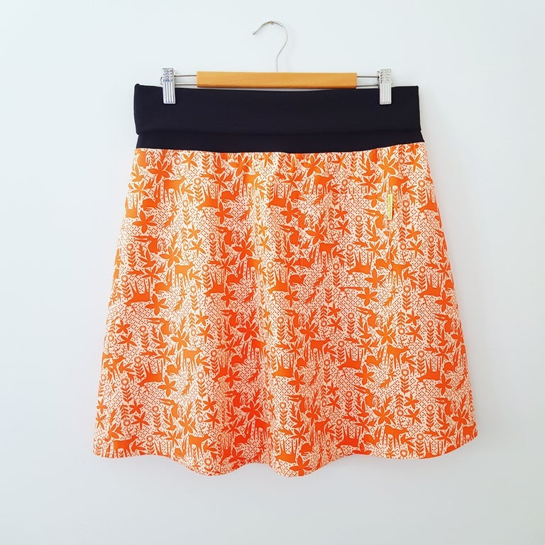 Image of Gus Skirt - Coral Animals