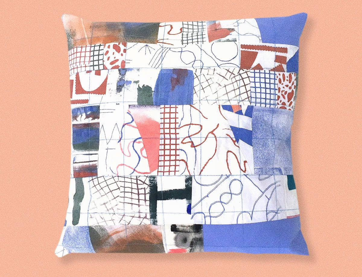 Image of PATCHWORK PILLOWCASE 3