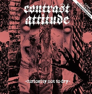 """CONTRAST ATTITUDE/THE KNOCKERS-CURIOSITY NOT TOO DRY 7"""""""