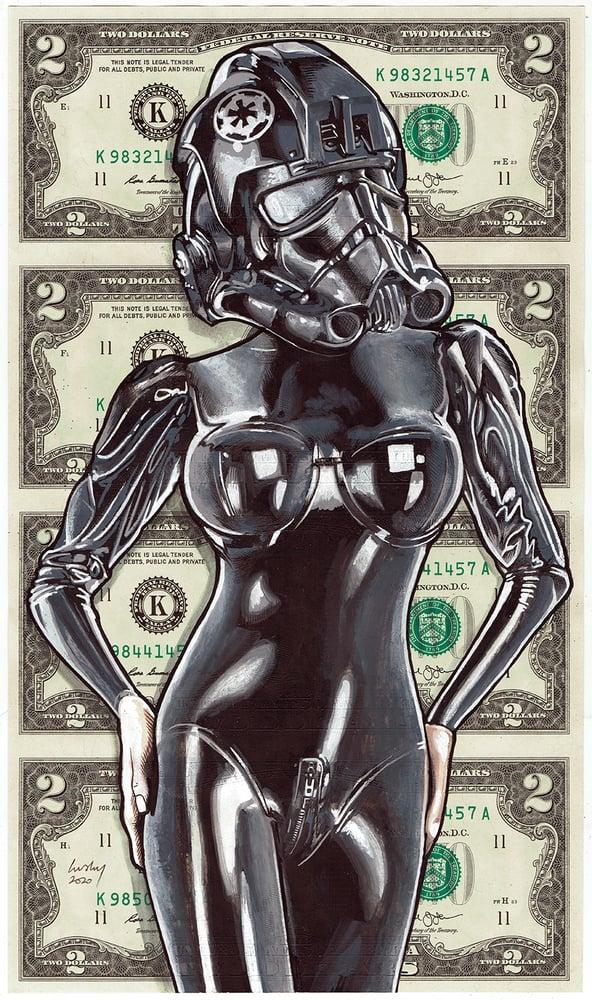 Image of Uncut 2 Dollars Original. Porn Trooper 2.