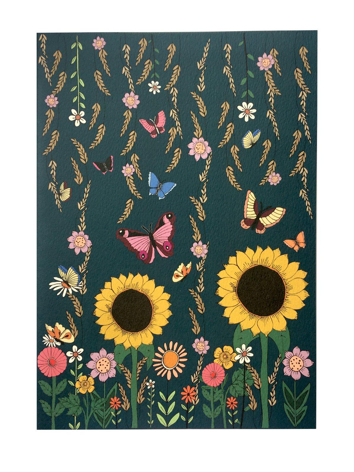 Sunflower A4 Notebook