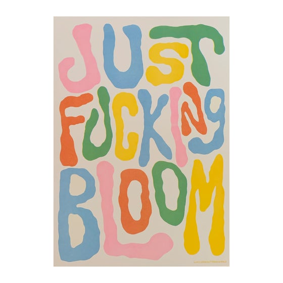 Image of FUCKING BLOOM Very Limited Edition of 10 x A3 Riso Prints