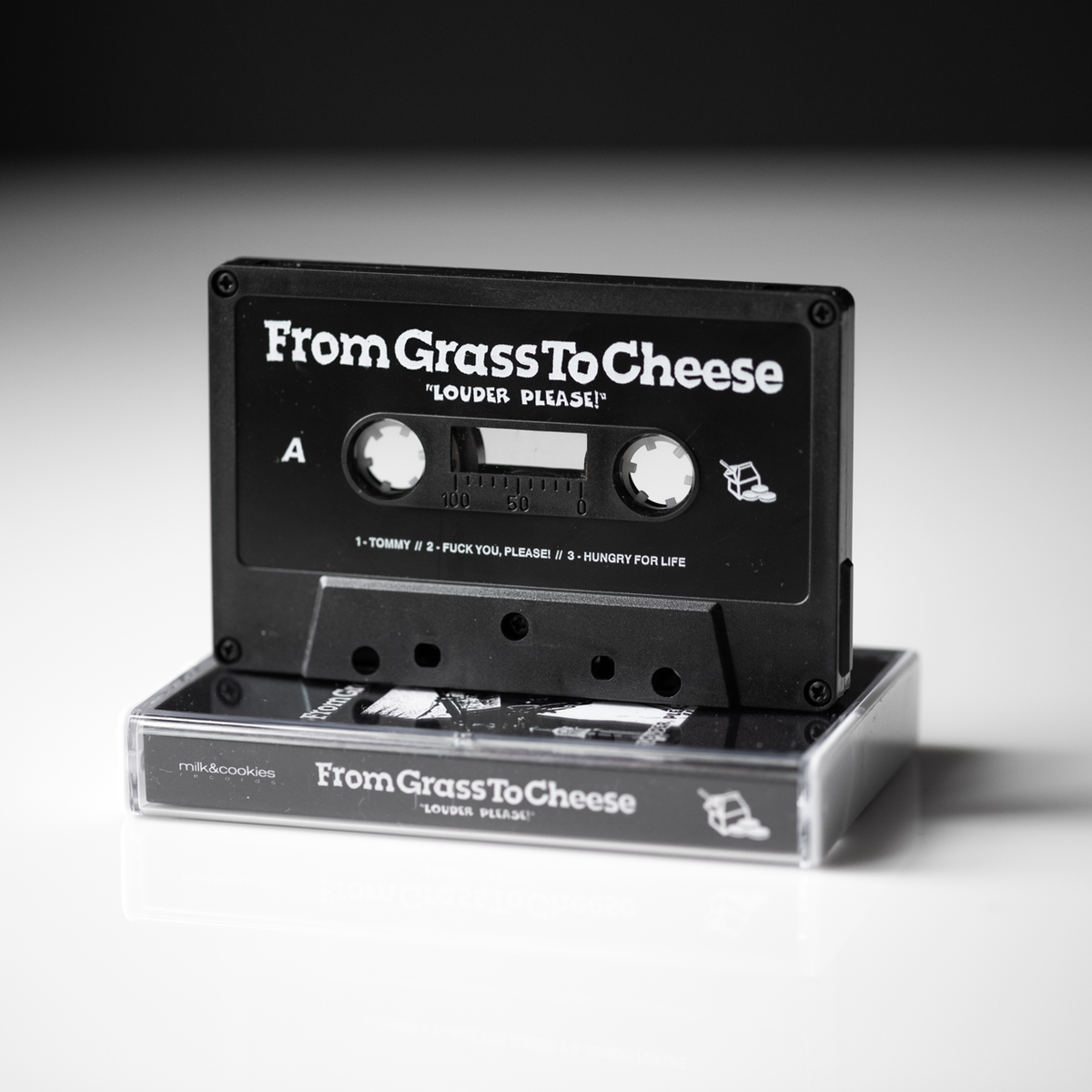 From Grass To Cheese - Louder Please! (Cassette)
