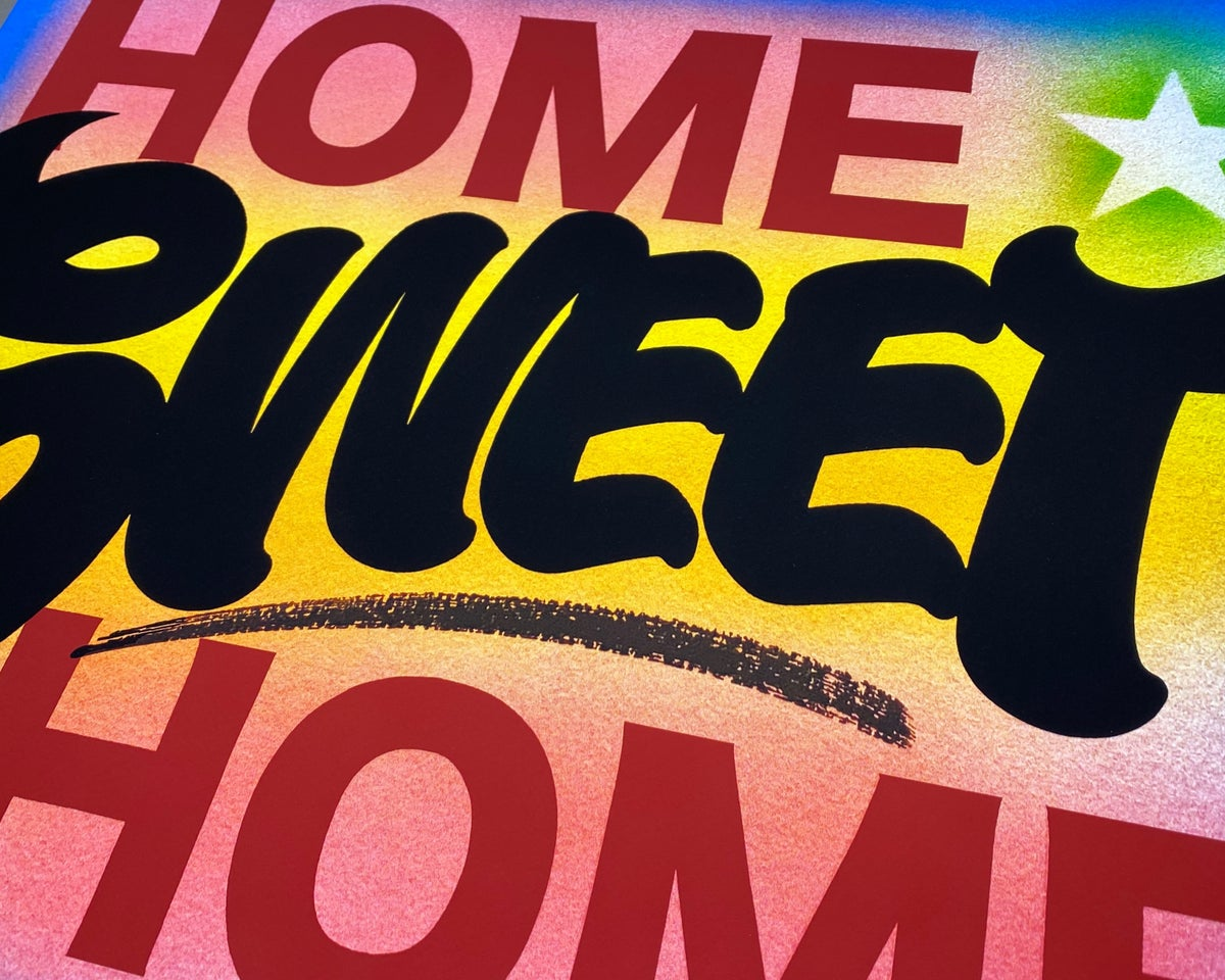 Image of Home Sweet Home - Archival Print