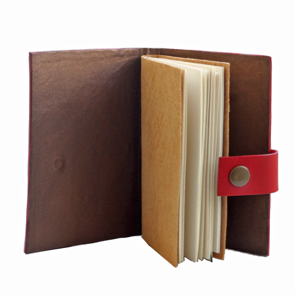 Image of Alagbede notebook - red