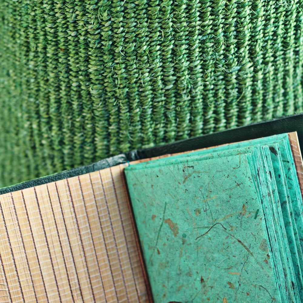 Image of Alagbede notebook - green